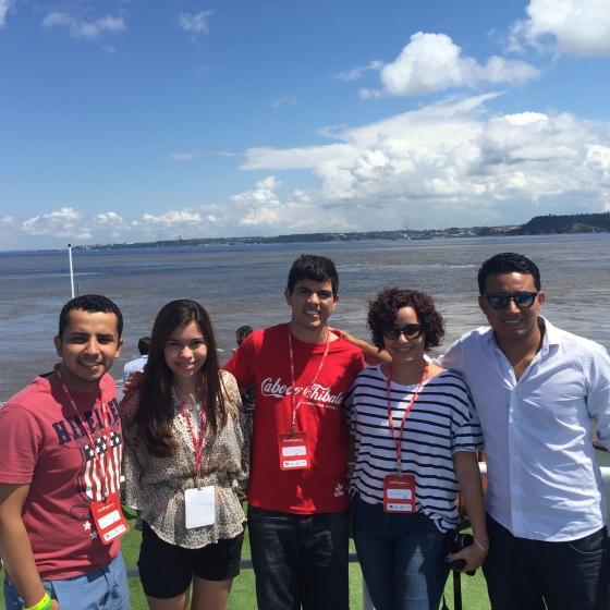 No Encontro das Águas, com a equipe da Amazon Share, que fez essa viagem ser mil vezes melhor!