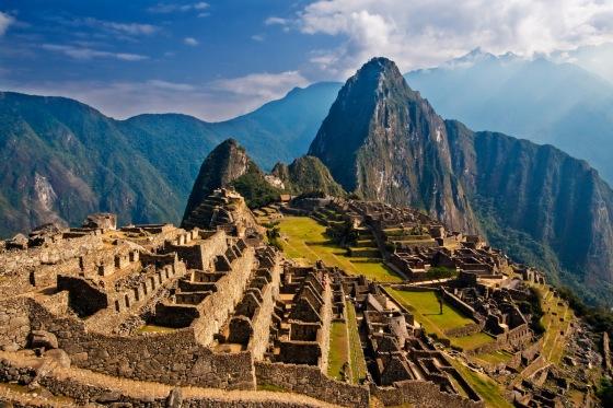 Early morning in wonderful Machu Picchu